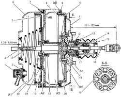 9.10.8 Ремонт вакуумного усилителя ГАЗ 2705
