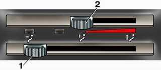 1.1 Отопление и вентиляция салона