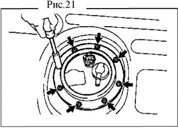 5.  Топливный насос. Демонтаж, установка, разборка и сборка