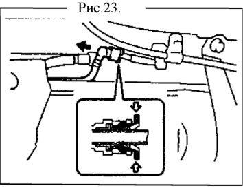 6.  Топливный бак. Демонтаж, установка, разборка и сборка