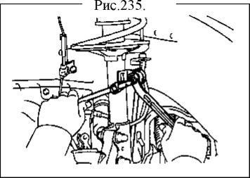 4.  Нижняя левая рулевая тяга. Замена Geely FC