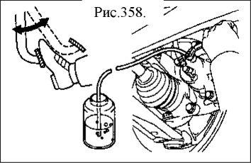 2.  Тормозная жидкость. Выпуск воздуха из тормозной системы Geely FC