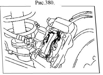 6.  Задний тормоз. Ремонт