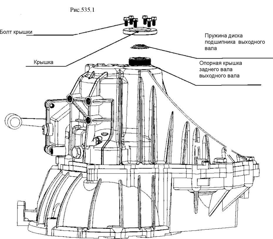 2.  Установка трансмиссии