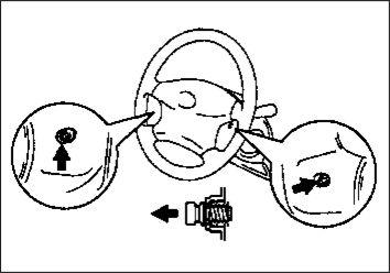 7.  Подушка безопасности водителя