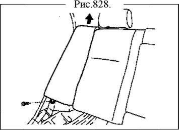 2.  Заднее кресло (раздельного типа) Geely FC