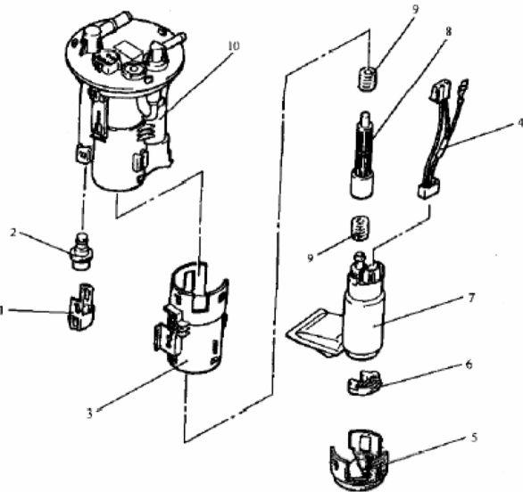 6.2. Насос подачи топлива с электроприводом.