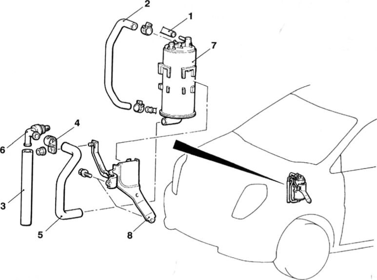 10.4. Демонтаж и установка угольного цилиндра.