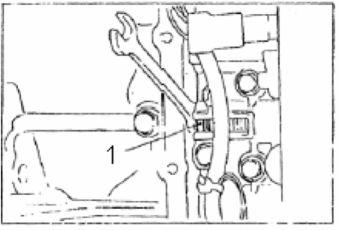 11А.8. Регулировка давления в гидравлической системе.