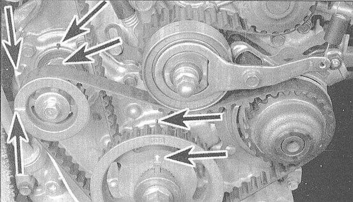 Установка зубчатых колёс в honda accord