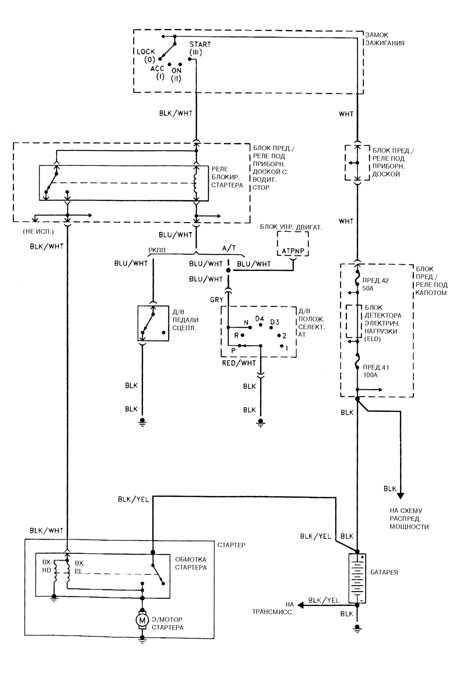 14.4 Система запуска 4-цилиндрового двигателя