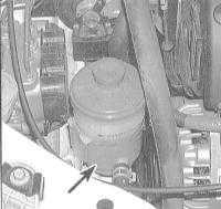 2.7 Проверка уровня жидкости гидроусилителя руля