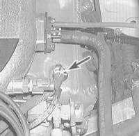2.25  Проверка и замена клапана системы управляемой вентиляции картера   (PCV)
