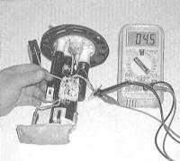 5.5 Проверка состояния и замена датчика