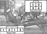 7.8 Проверка исправности состояния и замена датчика положения поршней