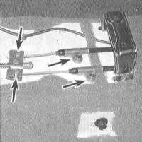 9.12 Замена троса(ов) привода стояночного тормоза