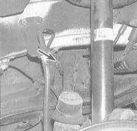 10.14 Снятие и установка рычагов задней подвески