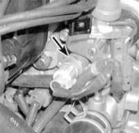 8.7 Проверка исправности состояния и замена датчика температуры охлаждающей жидкости двигателя (ЕСТ)