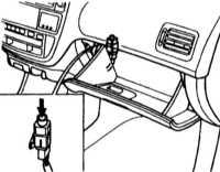 2.11 Клапан отключения подачи топлива в случае аварии (на некоторых моделях)