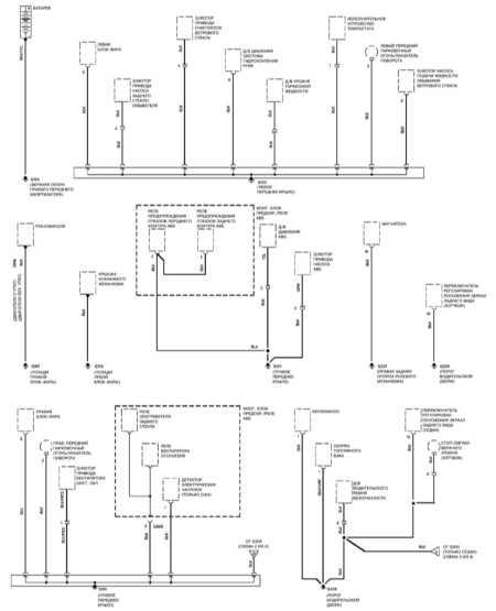 схемы электрических соединений honda civic