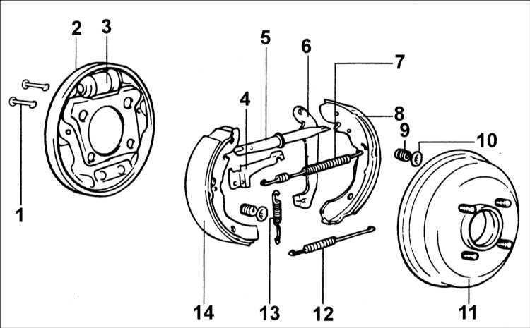 Замена задних тормозных колодок Hyundai Accent (Хендай) 30