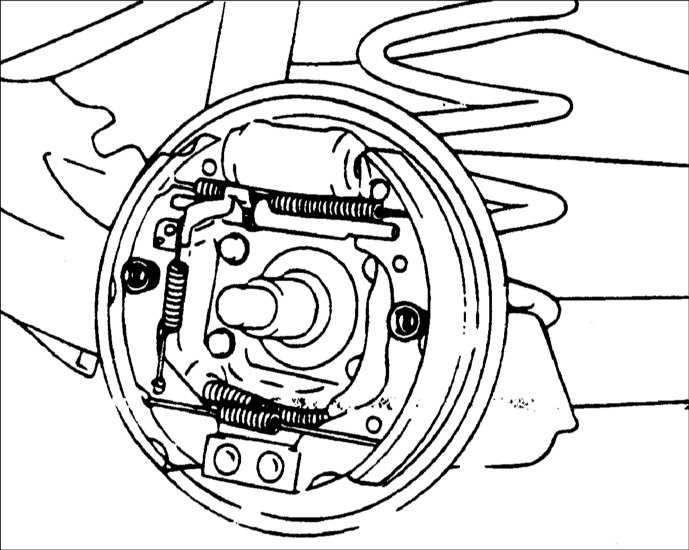 Хендай солярис замена задних колодок