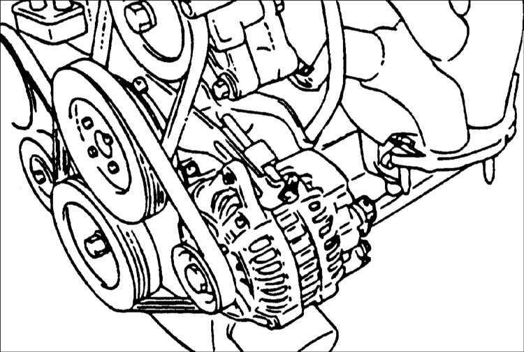 Замена ремня генератора акцент тагаз