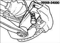 11.2 Нижний рычаг передней подвески Hyundai Accent