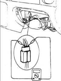 15.20 Проверка термостатического датчика (термистора)