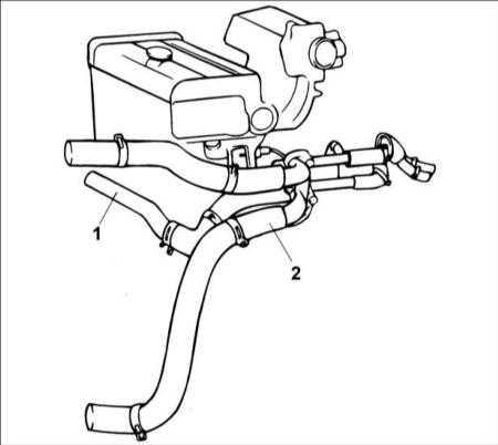 4.5 Трубки и шланги системы охлаждения Hyundai Accent