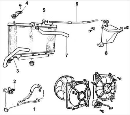 4.8 Радиатор Hyundai Accent