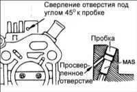 6.17 Частота вращения холостого ходаи регулировка топливной смеси