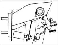 8.2 Регулировка педали сцепления Hyundai Accent