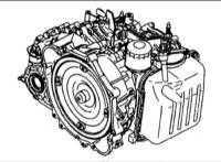 12.2 Проверка уровня жидкости в автоматической коробке передач