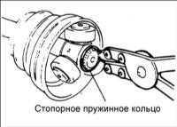 13.4 вал со ШРУСами Birfield (B. J.) и трипоидного типа (T. J.) Hyundai Elantra