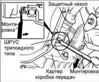 13.2 Приводной вал Hyundai Elantra