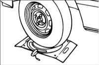 15.3 Проверка угла поворота передних колес