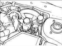 16.20 Прокачка гидравлической системы привода тормозов с использованием сканера