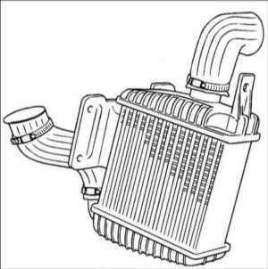 2.16 Охладитель надуваемого воздуха