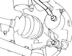 6.1.9 Снятие, проверка и установка передних тормозных колодок Hyundai Matrix
