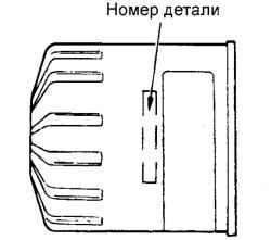 2.1.4 Выбор масляного фильтра