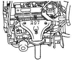 2.4.2 Снятие, проверка и установка выпускного коллектора и трубы системы выпуска Hyundai Santa Fe