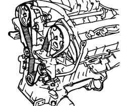 2.6.2 Снятие, проверка и установка ремня привода ГРМ Hyundai Santa Fe