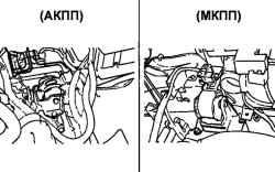 2.6.4 Снятие опор силового агрегата Hyundai Santa Fe