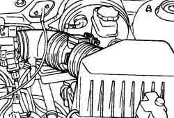 2.6.5 Снятие двигателя и коробки передач в сборе