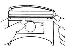 2.6.8 Разборка шатунно-поршневой группы Hyundai Santa Fe