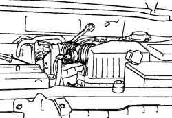 2.8.7 Снятие, проверка и установка воздушного фильтра Hyundai Santa Fe