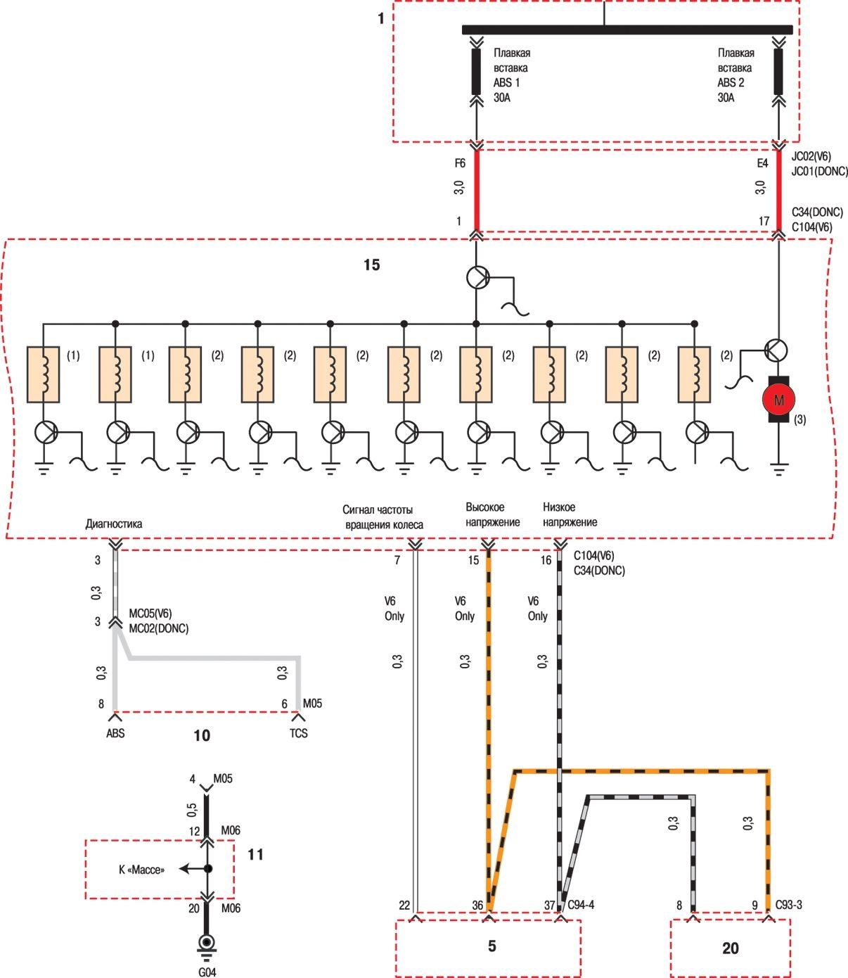 Схема электрическая хундай соната фото 2