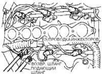 4.5 Снятие и установка впускного трубопровода