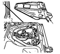 10.4 Электродвигатель стеклоочистителя заднего стекла